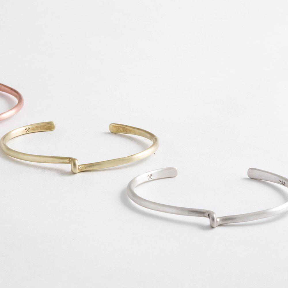 Studebaker Metals|Avanti Copper Cuff 手工紅銅手環