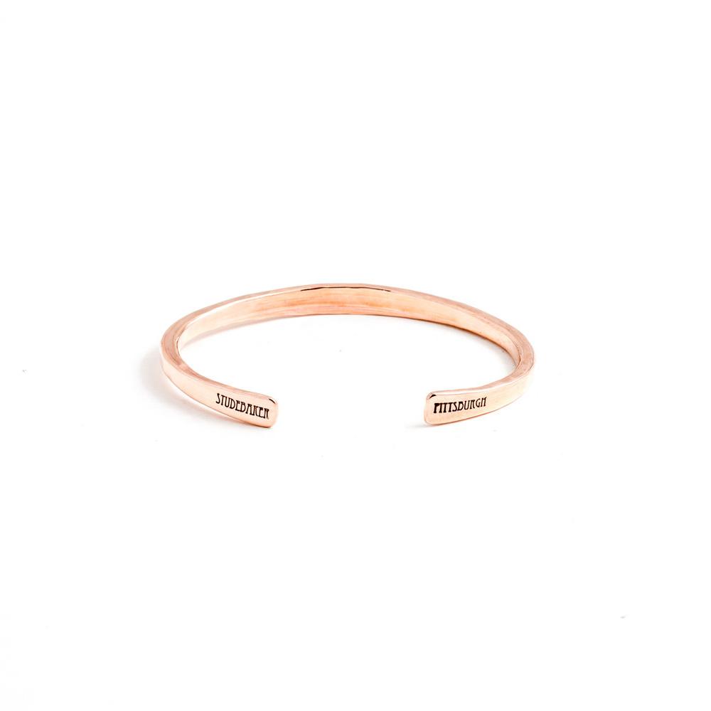 Studebaker Metals|Workshop Cuff 手工鍛造紅銅手環