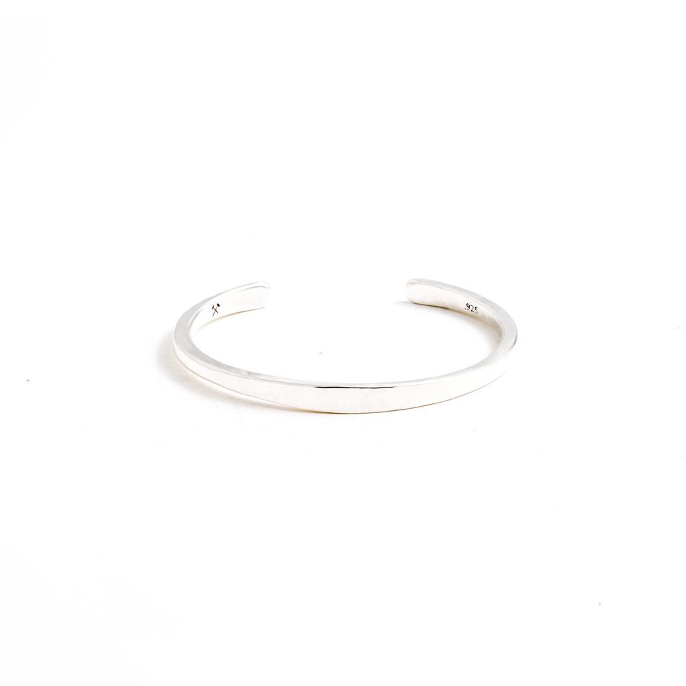 Studebaker Metals|Workshop Cuff 手工鍛造純銀手環