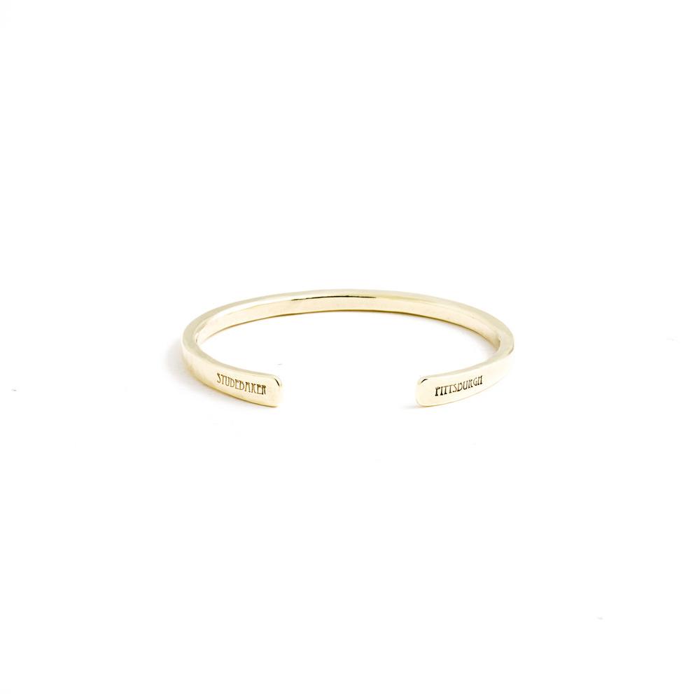 Studebaker Metals|Classic Cuff 手工黃銅手環