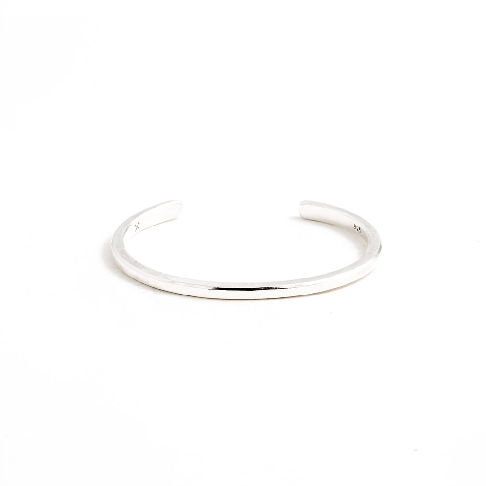 Studebaker Metals|Classic Cuff 手工純銀手環
