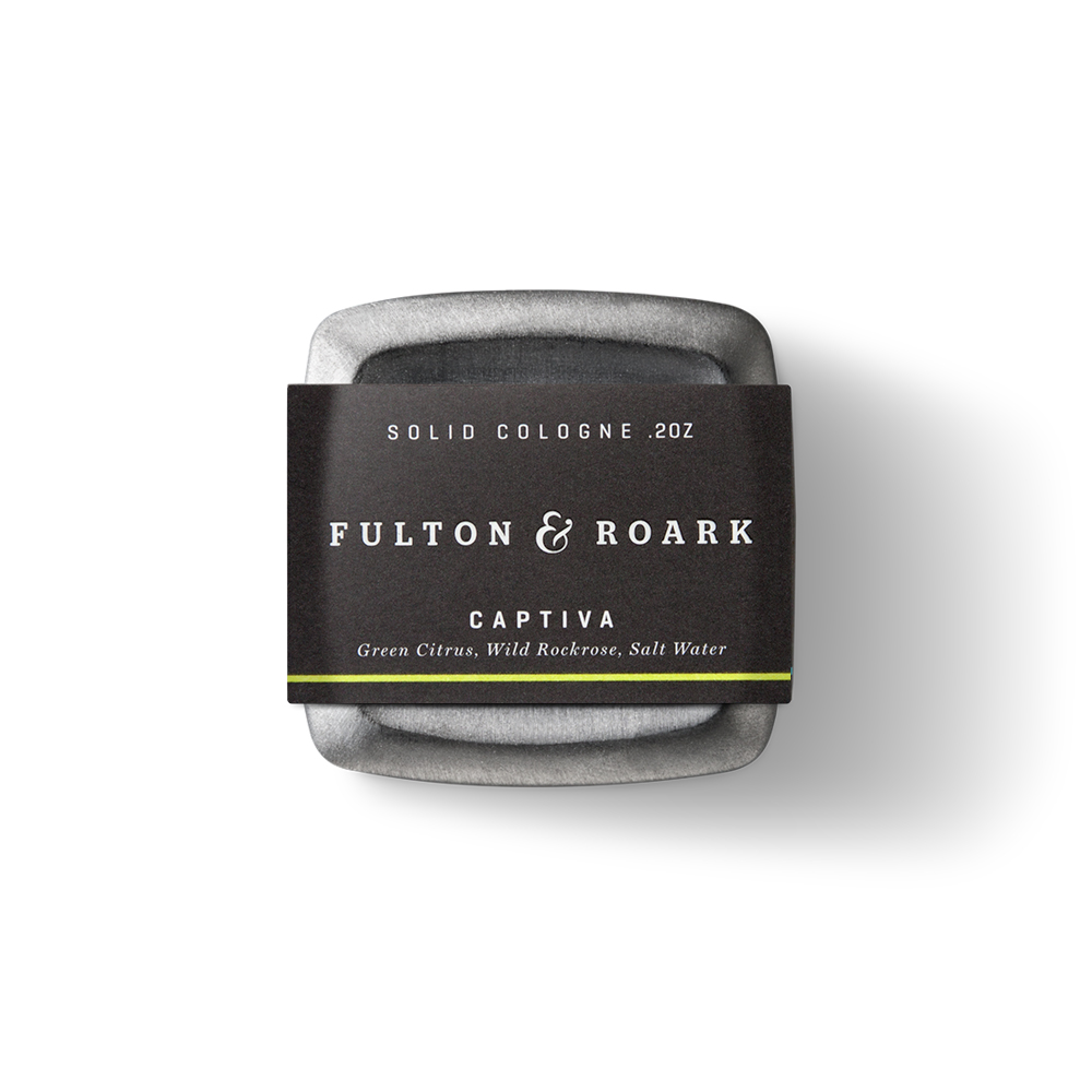 Fulton & Roark|CAPTIVA 頂級男性固態古龍水