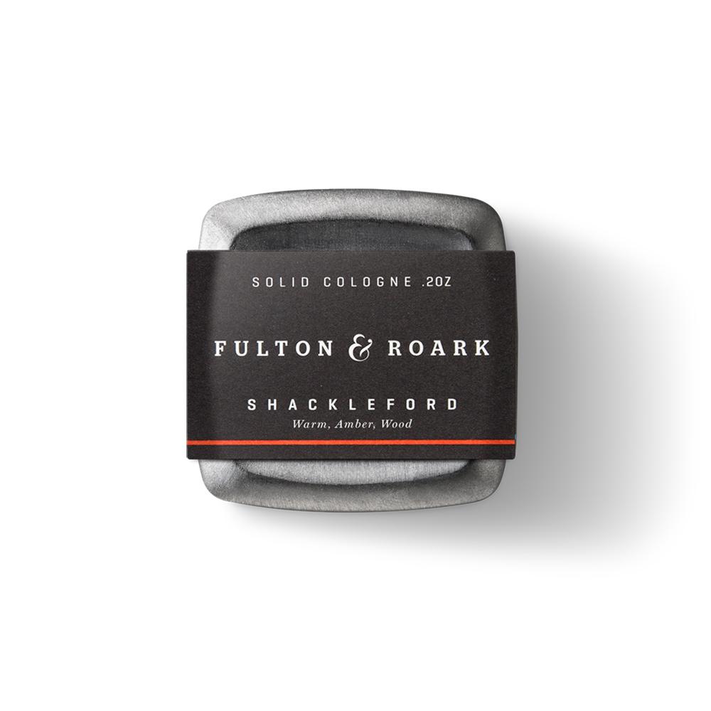 Fulton & Roark|SHACKLEFORD 頂級男性固態古龍水