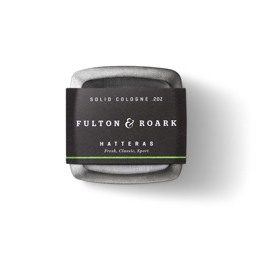 Fulton & Roark|HATTERAS 頂級男性固態古龍水