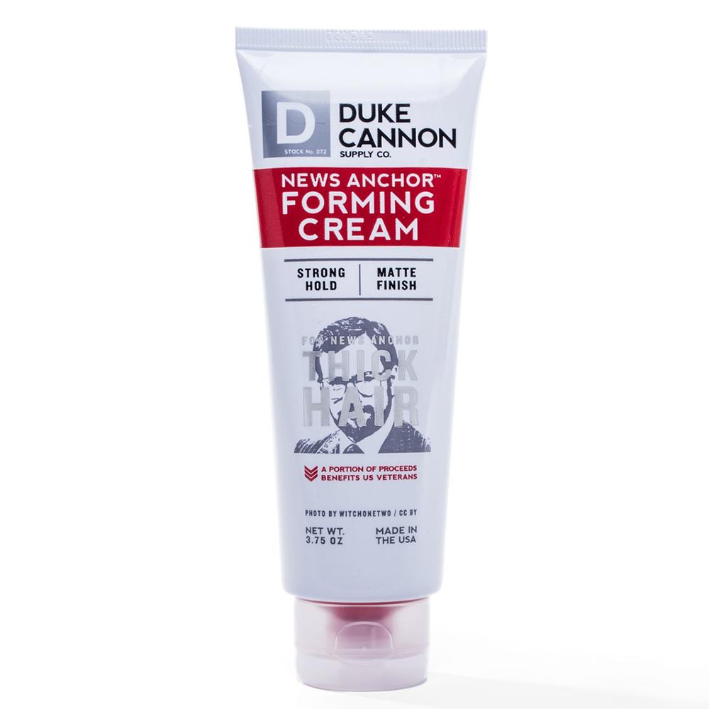 Duke Cannon|News Anchor Forming Cream 水洗式髮油