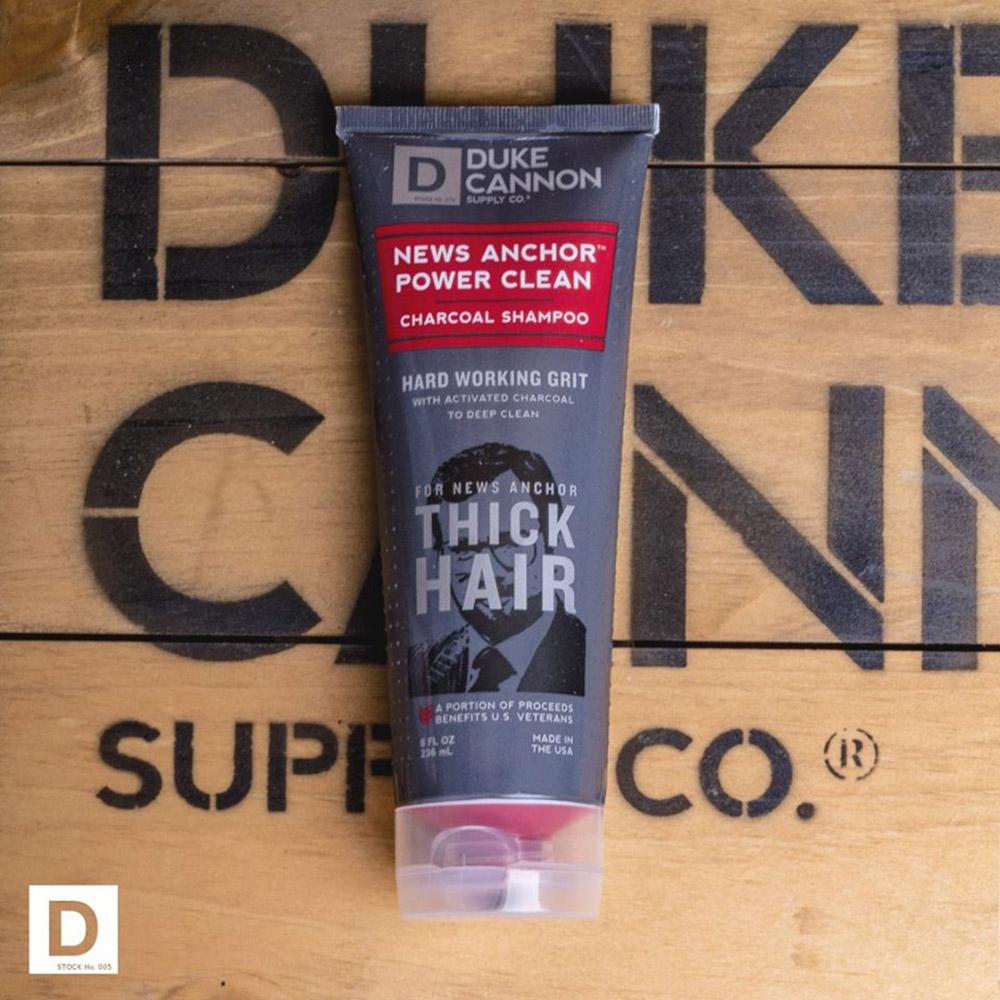 Duke Cannon 「活性炭」能量洗髮精