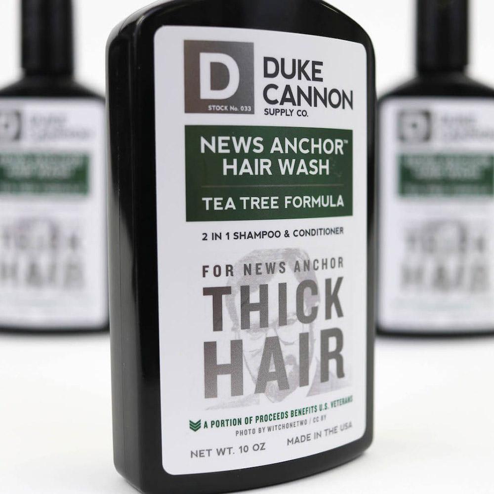 Duke Cannon|「茶樹配方」洗髮精