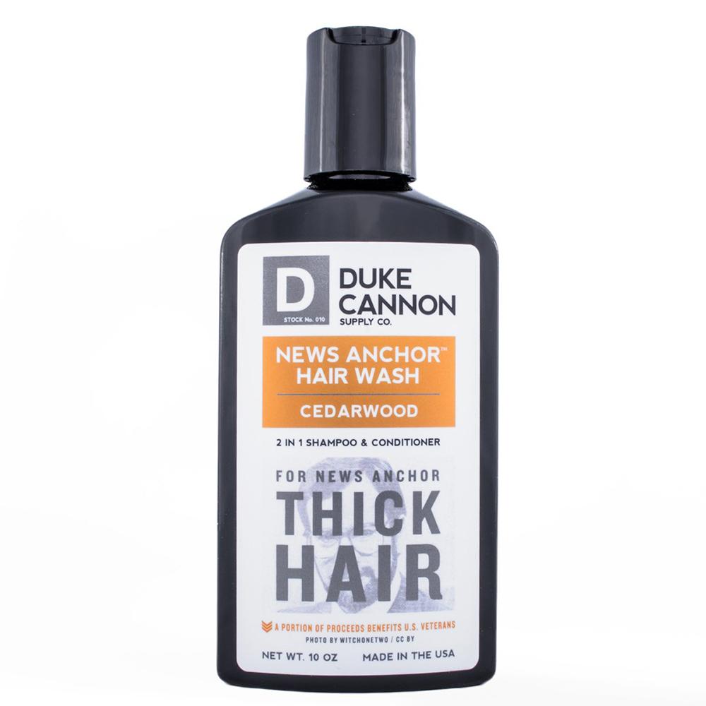 Duke Cannon News Anchor 2-1 Hair Wash「雪松配方」洗髮精