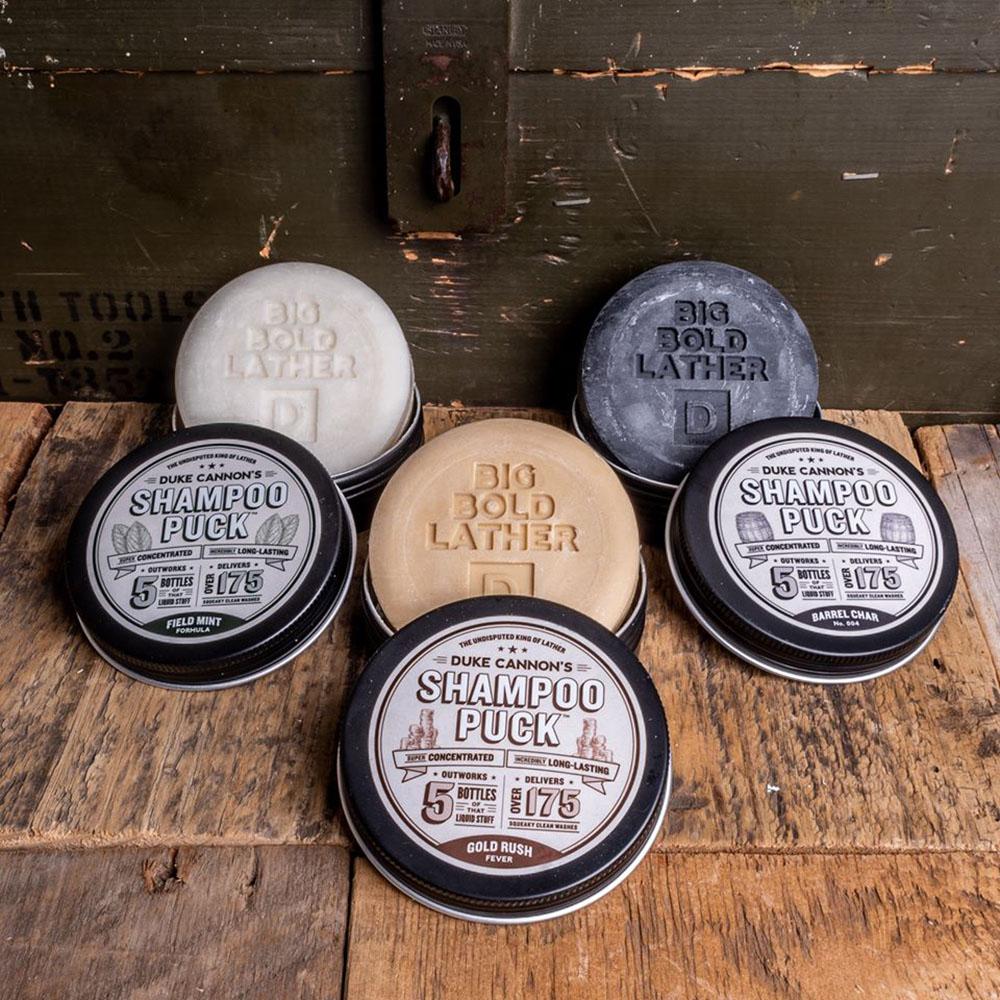 Duke Cannon|「淘金熱」洗髮皂