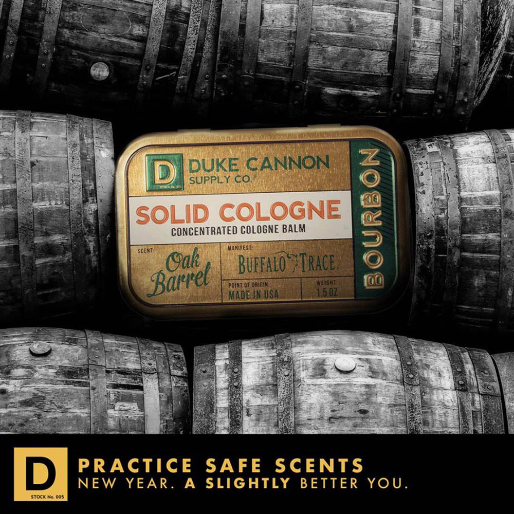 Duke Cannon|「波本威士忌」有機固態古龍水