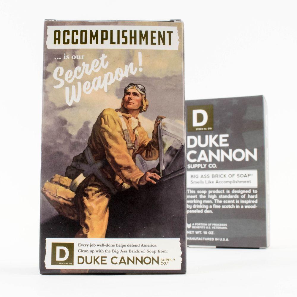 Duke Cannon|BIG ASS 美軍「超能幹」大肥皂 (黑色) 二戰紀念包裝