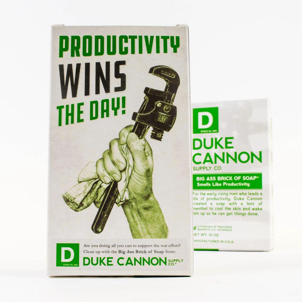 Duke Cannon BIG ASS 美軍「超能幹」大肥皂 (白色) 二戰紀念包裝