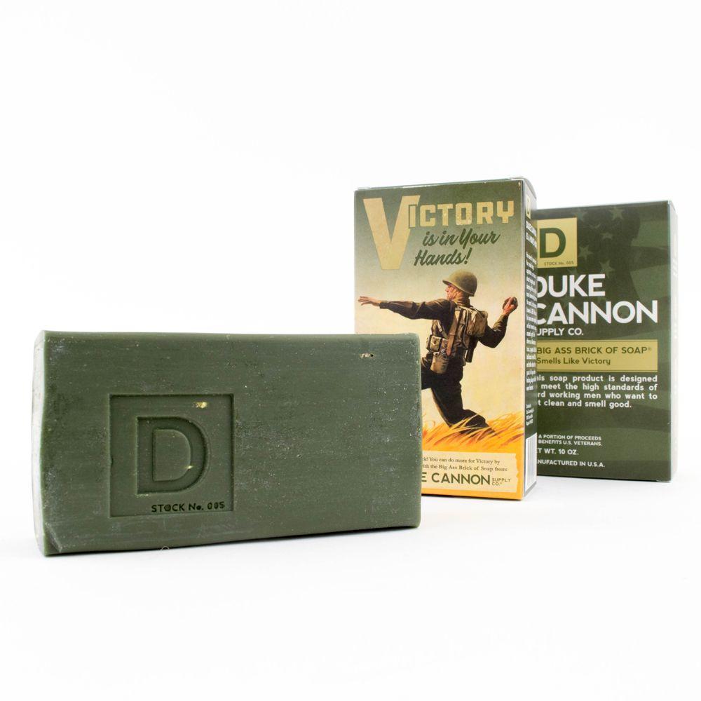Duke Cannon|BIG ASS 美軍「超能幹」大肥皂 (軍綠) 二戰紀念包裝