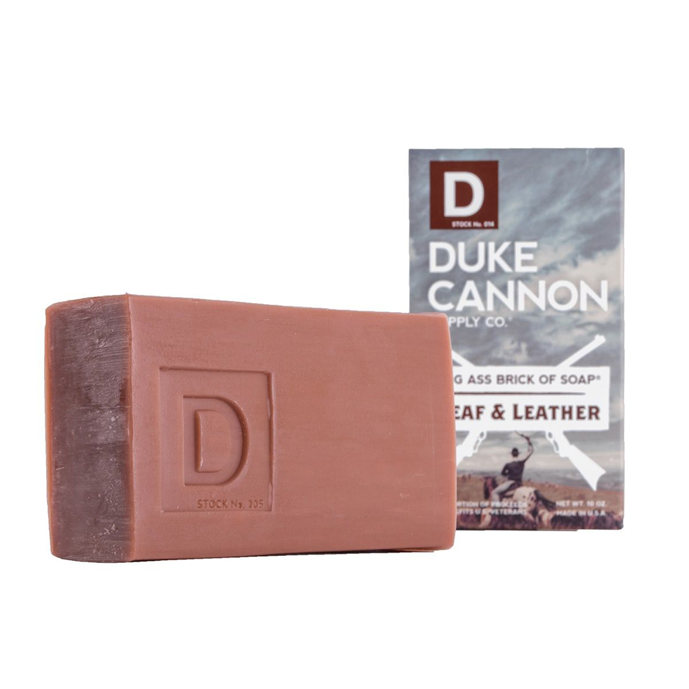 Duke Cannon BIG ASS「菸草皮革」大肥皂