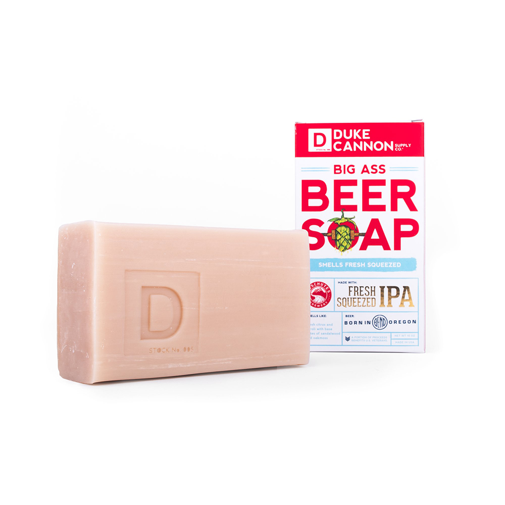 Duke Cannon BIG ASS「DESCHUTES 極致鮮搾啤酒」大肥皂