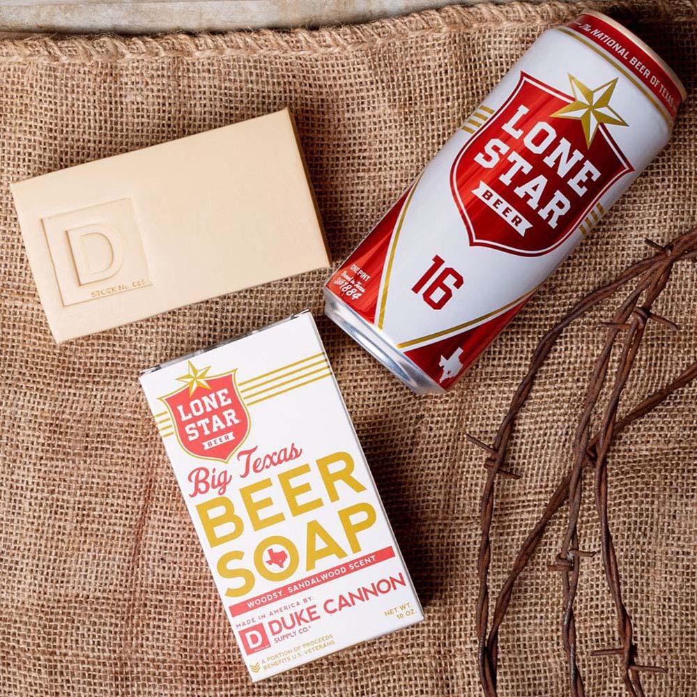 Duke Cannon|BIG ASS「德州啤酒」大肥皂