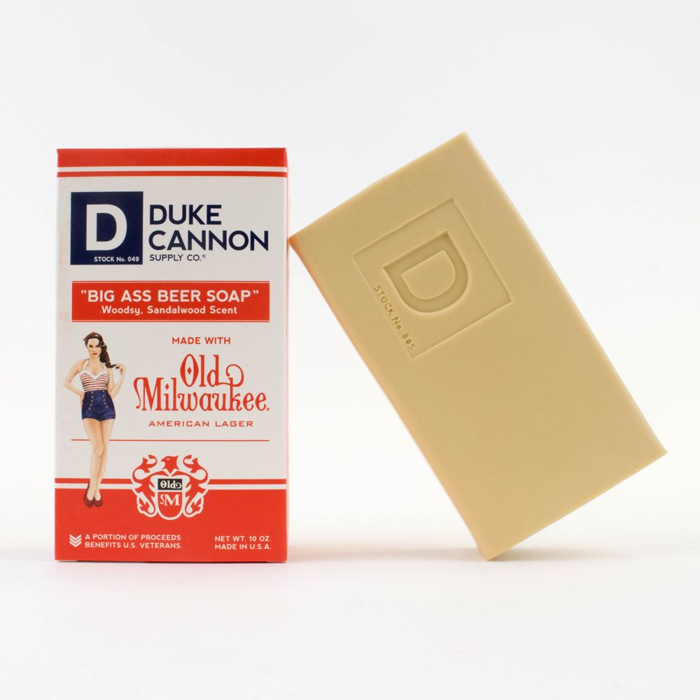 Duke Cannon|BIG ASS「啤酒」大肥皂