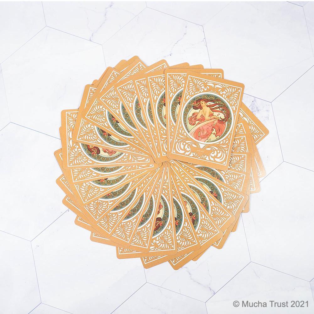 永恆慕夏-線條的魔術 撲克牌