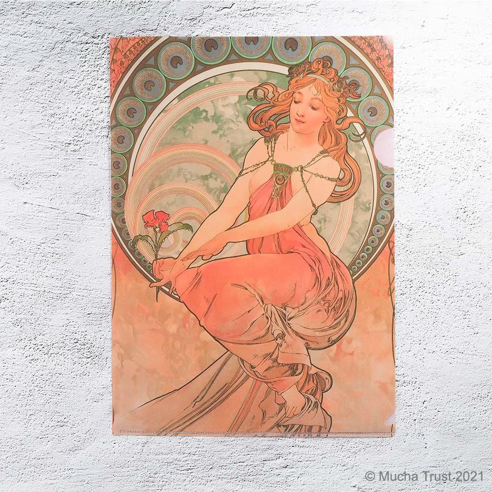 永恆慕夏-線條的魔術|L夾-繪畫