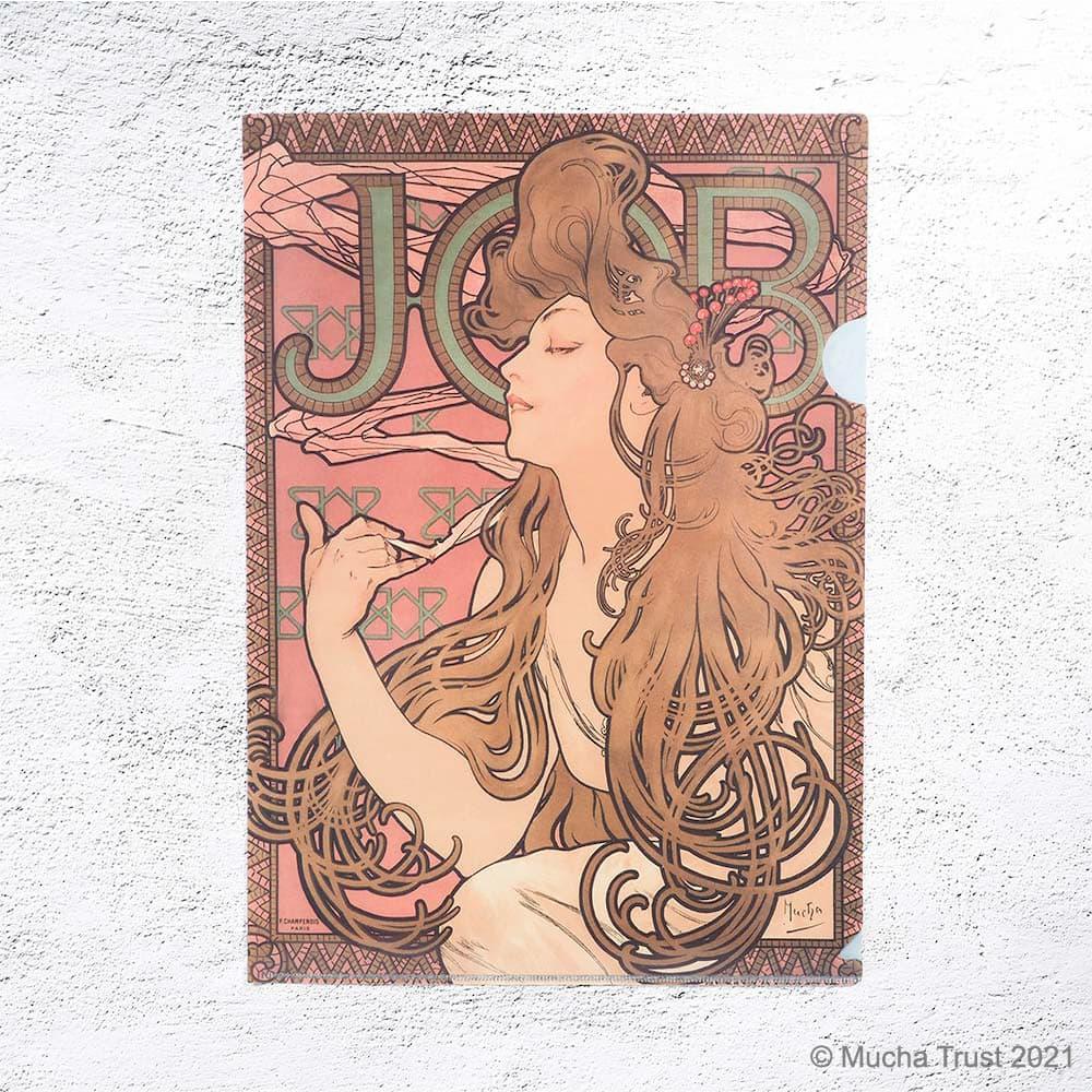 永恆慕夏-線條的魔術|L夾-喬勃牌煙卷紙