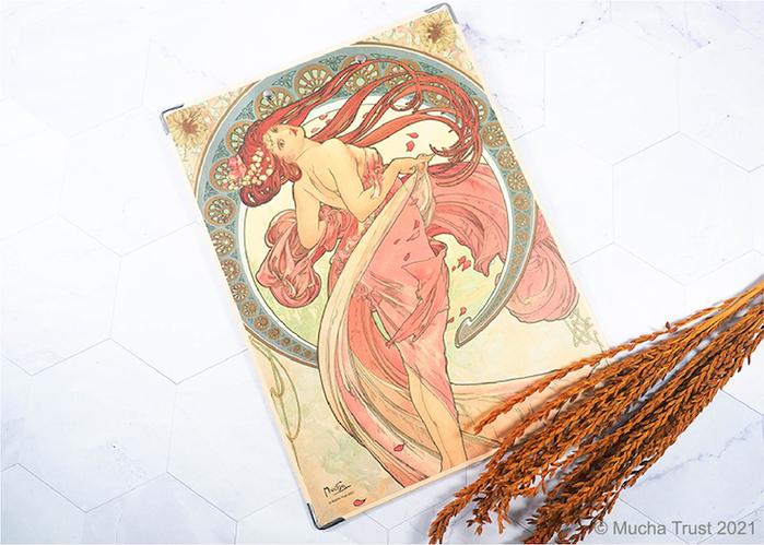 永恆慕夏-線條的魔術 板夾-舞蹈