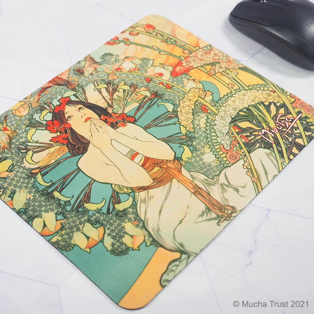 永恆慕夏-線條的魔術|滑鼠墊-摩納哥蒙地卡羅