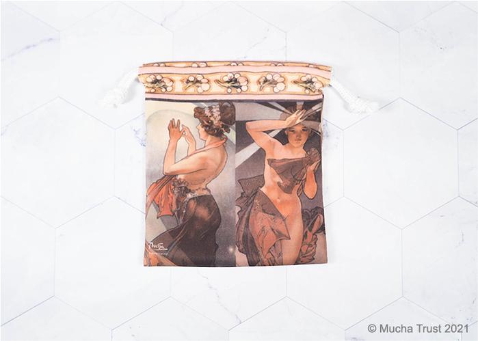 永恆慕夏-線條的魔術|束口袋-《星月》系列