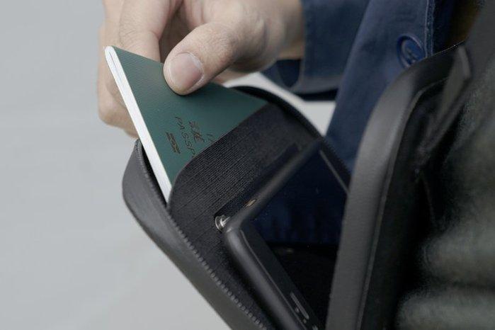 SEALSON|Urban Wallet肩背錢包 -CORDURA(黑色/193 × 117×25㎜)
