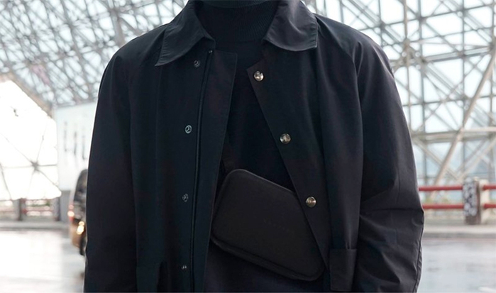 SEALSON|Urban Wallet肩背錢包 -HT-leather(黑色)
