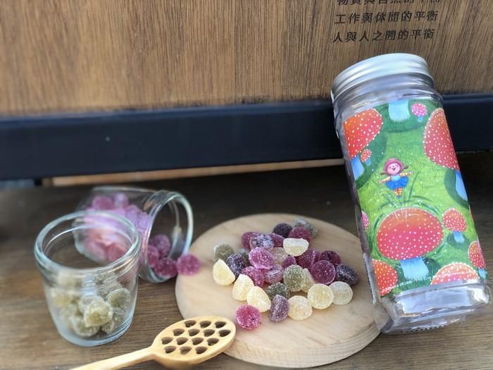 (複製)蜜甜本舖|幾米授權軟糖-許願/蜂百香火龍果軟糖
