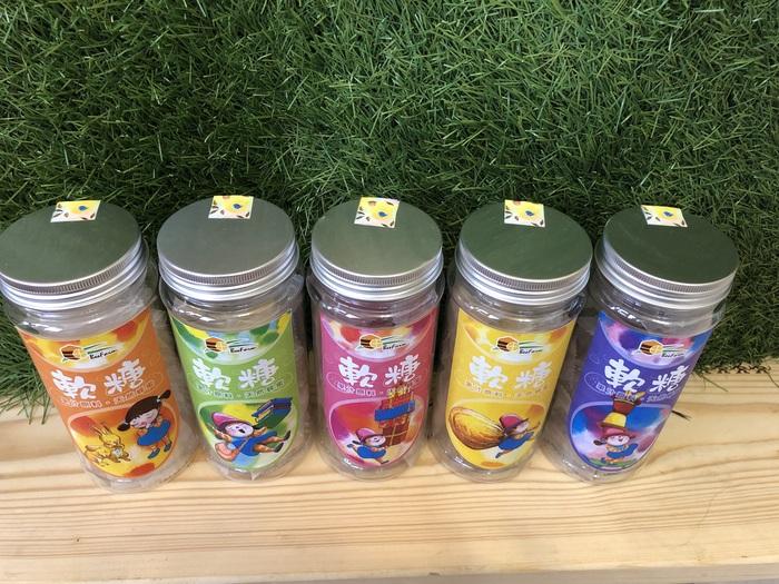 (複製)蜜甜本舖|幾米授權-蜂火龍果金桔軟糖(送禮)