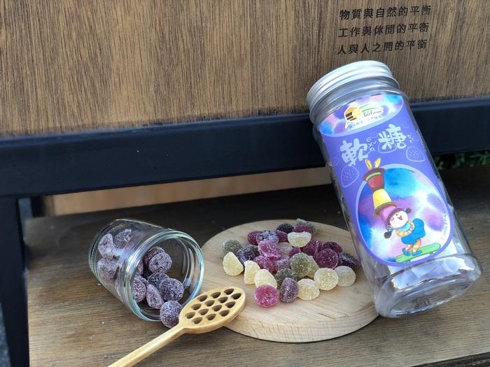 蜜甜本舖|幾米授權-蜂桑椹軟糖(滑翔)