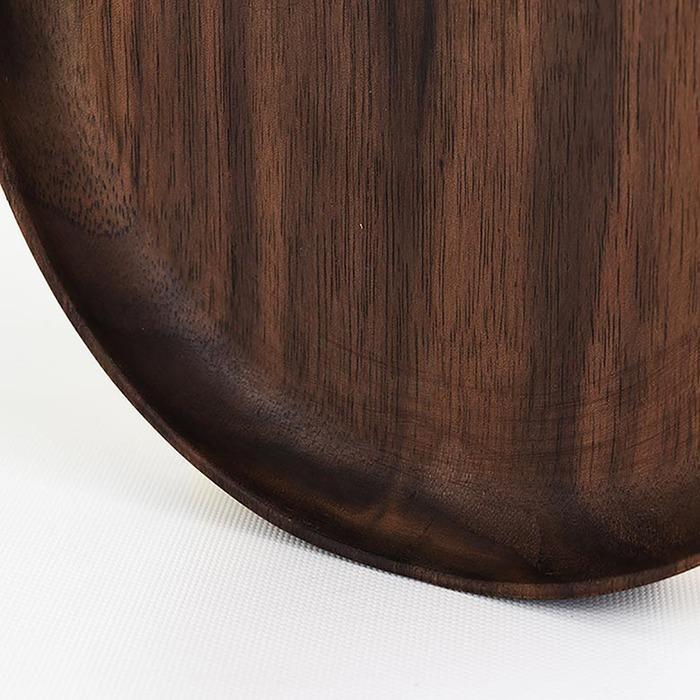 (複製)原木哲學 feelosophy 橢圓盤 Oval Tray 100% 黑胡桃木 Black Walnut 32x15x1.8公分