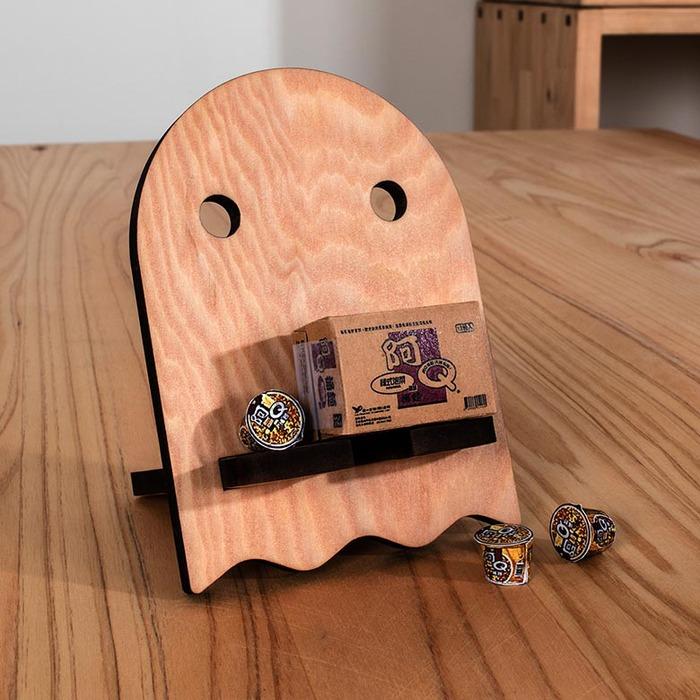 (複製)原木哲學 feelosophy|原木杯墊 英文語錄  Wood Coaster 9.5x9.5x0.5公分
