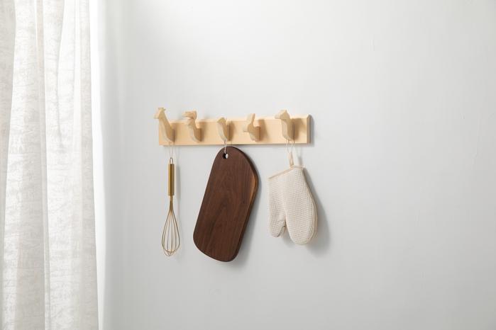 原木哲學 feelosophy 原木動物掛架 Wooden Animals Hanger