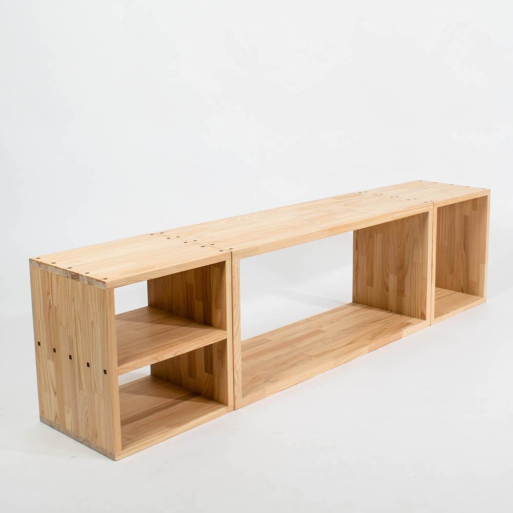 原木哲學 feelosophy|隨意原木櫃 cube wood