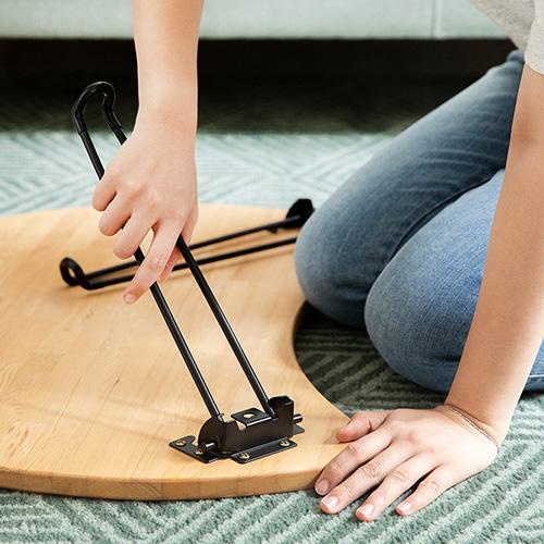 原木哲學 feelosophy 北美鐵杉 彎月和室桌 折疊桌 Moon Wood Table