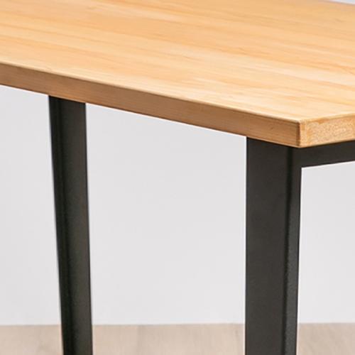 原木哲學Feelosophy | Simply Wood Table 日本檜木 簡單原木桌 梯形造型桌腳 (小)