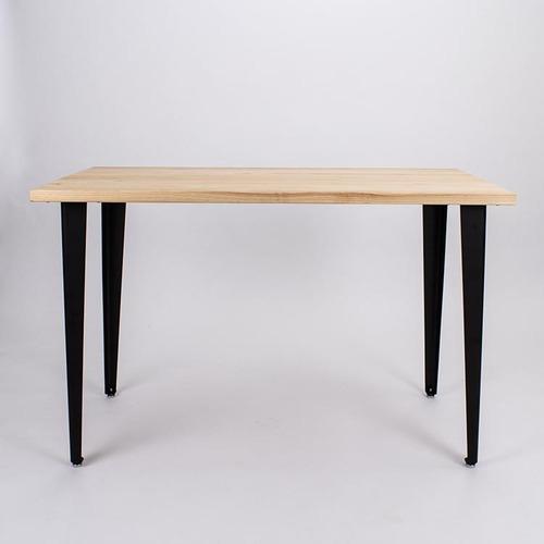 原木哲學 feelosophy| 日本檜木 簡單原木桌 斜線造型 Simply Wood Table 黑白桌腳任搭 (小)