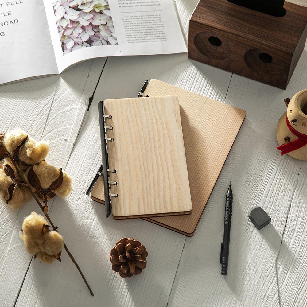 原木哲學feelosophy A6原木手帳本handbook加拿大檜木 冷杉 美國側柏 精美禮盒