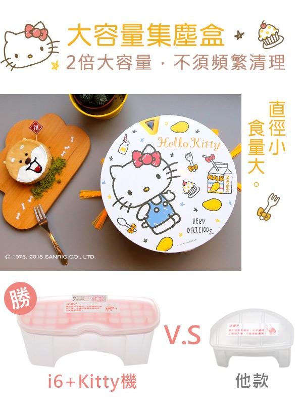 Vbot|Hello Kitty i6+ 掃地機器人-芒果奶霜蛋糕