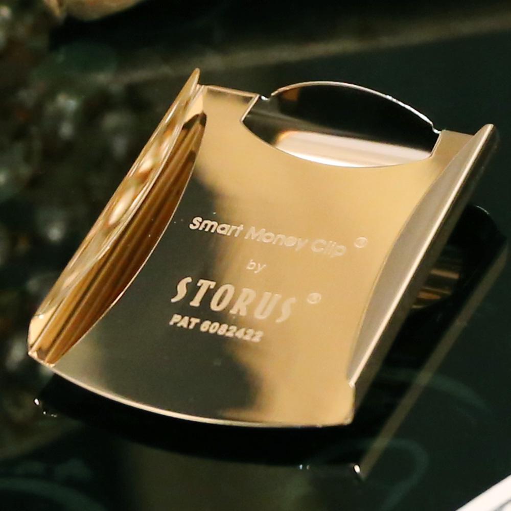 美國STORUS|  聰明錢夾 專利設計時尚鈔票夾 -   宮廷金