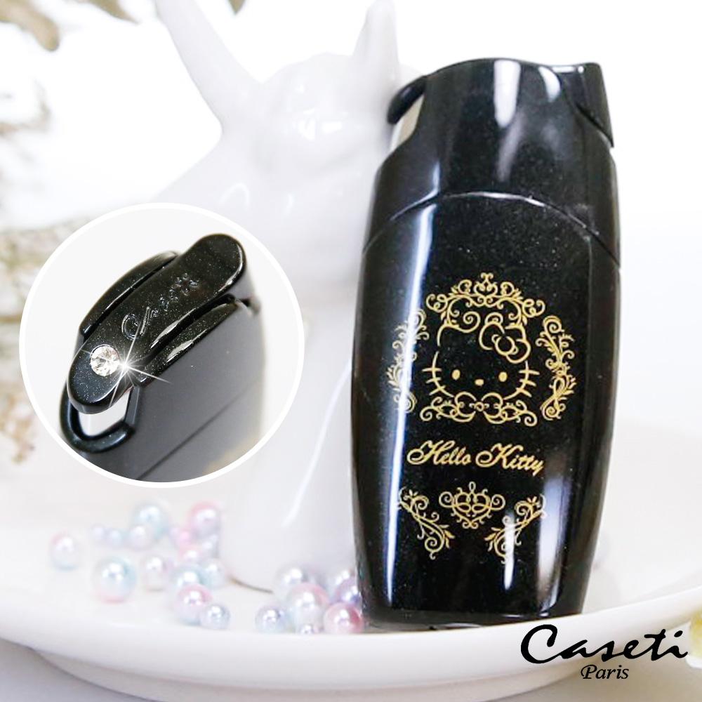 Caseti Hello Kitty 黑色按壓式  聯名香水瓶