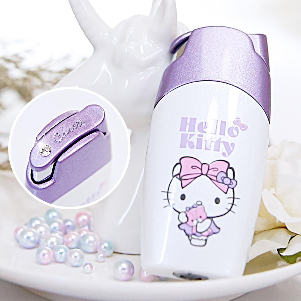 Caseti|Hello Kitty|紫色按壓式 聯名香水瓶