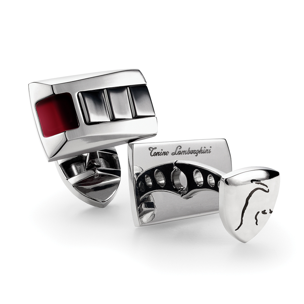 藍寶堅尼Lamborghini  IL PRIMO Red  袖釦