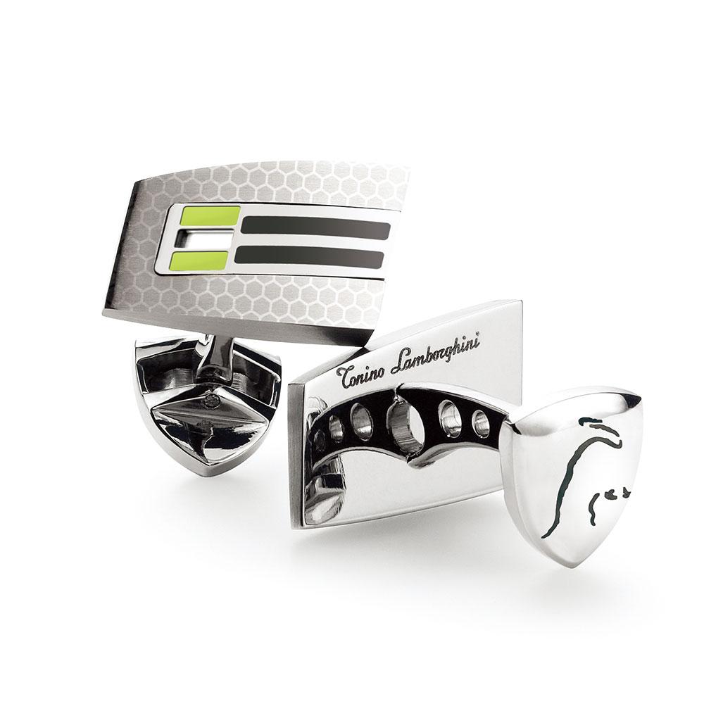 藍寶堅尼Tonino Lamborghini |CORSA Green 袖釦