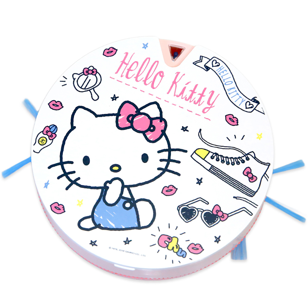 Vbot|Hello Kitty i6+ 掃地機器人 -粉紅派對蛋糕