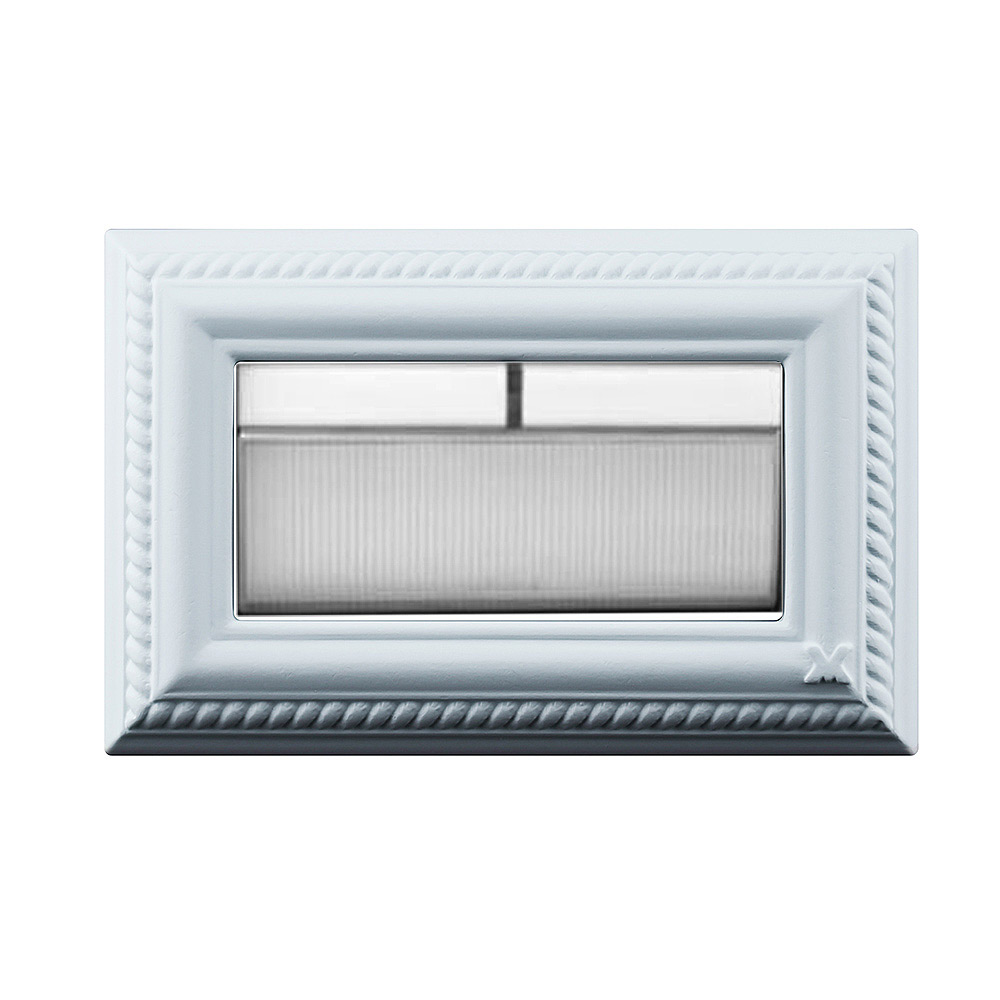 VaMarssa 新古典小開關面板 (黏貼式-藍)