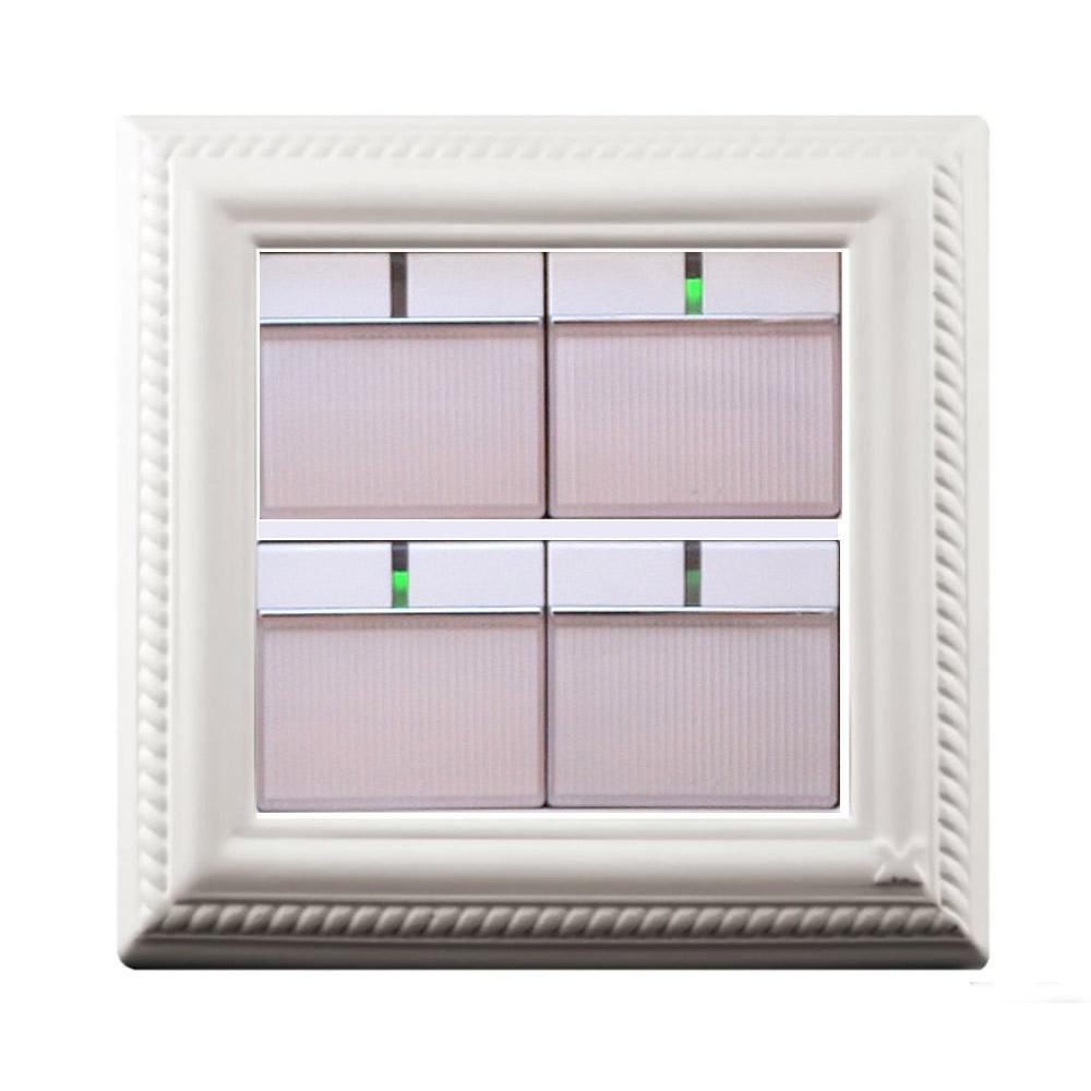 VaMarssa|新古典大開關面板 (黏貼式-白)