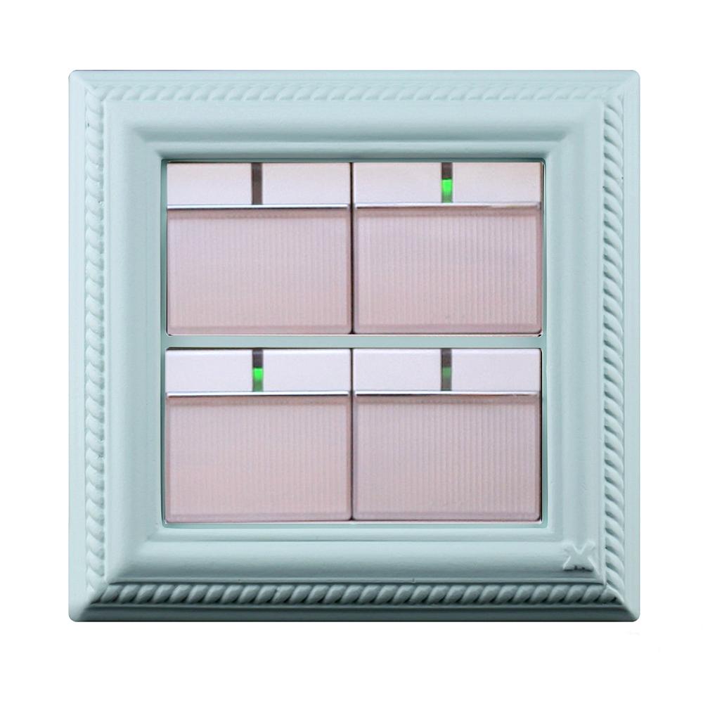 VaMarssa|新古典大開關面板 (卡準式-綠)